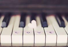heart, love, music, piano