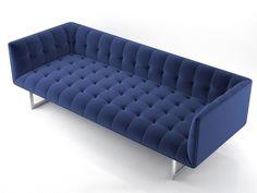 Poliform Edward sofa 3d model | Joe Colombo