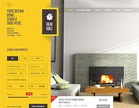 """Our latest work on real estate website theme design """"Dream Home-An Awesome IDX Psd Theme"""".For more information kindly visit to the following link. http://themeforest.net/user/0effortthemes/portfolio?ref=0effortthemes"""