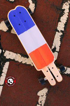 Weirdboards Mini Cruiser Skateboard Rocket Pop by Weirdboards, $84.00