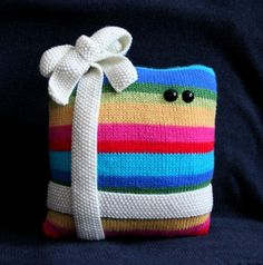 Knit your own Big Friendly Christmas Present by ButterflyLove1