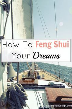Tired of chasing goals that never seem to manifest? Here's How to feng shui your dreams and manifest with purpose.
