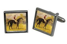 Square Cuff Links with Custom Photograph @ classiclegacy