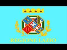 Bandera e Himno de Lacio (Italia) - Flag and Anthem of Lazio (Italy)