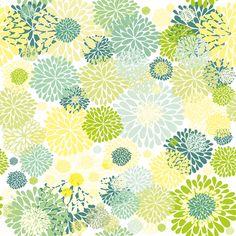 Summer mums fabric by dariara on Spoonflower - custom fabric