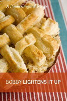 Bobby's Lighter Chicken Pot Pie a Paula Deen Recipe