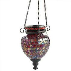 Red Mosaic Lantern    Clearance $9.48 Orig. $19  This is a swingin' little gift idea. It's pretty. It's practical. And it's the right price. Select one of our many Pier 1 tealight fragrances (sold separately) to give with it.