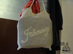 Cute crochet bag.