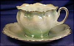 RS Prussia demi-tasse c 2 ( Continental - cups & saucer ~ Sarah's Country Kitchen ~
