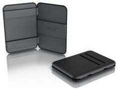Dosh Stealth Magic Wallet Dosh. $45.00. Super durable and hard wearing. Water resistant Desmopan material. Ultra compact streamlined shape. 4 card capacity. Comes in pod style packaging