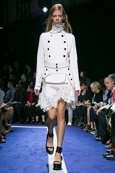 A look from the Sacai Spring 2015 RTW collection.