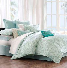 Aqua Blue Comforter Set Mykonos