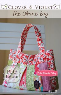 Bag Patterns and Quilting Pattern - Fat Quarter Shop