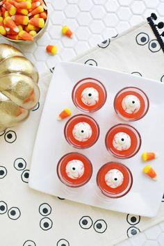 Spooky eye jello shots!