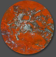 Jasper with Hematite, Sycamore Creek, Maricopa County