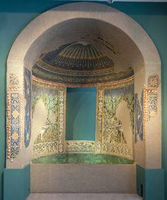 Pompeii mosaic fount