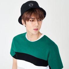 Hats On x EXO [EXO_SEHUN]URBAN SWAGGER FASHION HAT 334 (BK) #HATSON