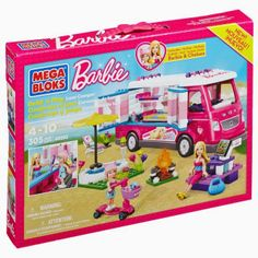 ***Giveaway*** Enter to win a Mega Bloks Barbie Build 'n Play Luxe Camper play set! Ends 4/5