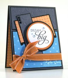 Card by Kathy Curry using Verve Stamps.