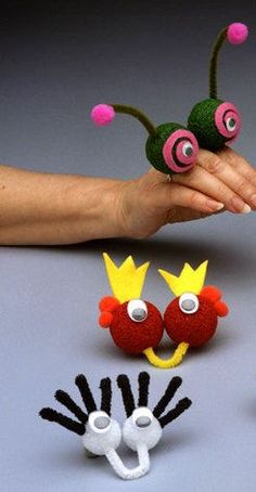Finger Puppets Craft Idea For Kids #Handpuppets