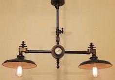 industrial steampunk lighting - Google Search