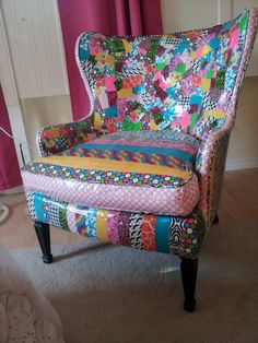 Duck tape chair for my daughter's room
