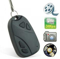 Porte clé Camera espion + carte sd 4 Go: $25.95€ TTC