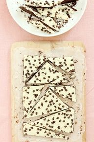 Chocolate Chip Cookie Dough Bark   Bakers Royale