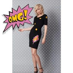 Col Claudine  PopArt dress (Summer 2015)