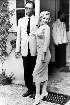 1956 - Playwright Arthur Miller wed Hollywood icon Marilyn Monroe
