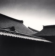 cavetocanvas:  Michael Kenna,Temple Rooftops, Kyoto, Honshu, Japan, 1987