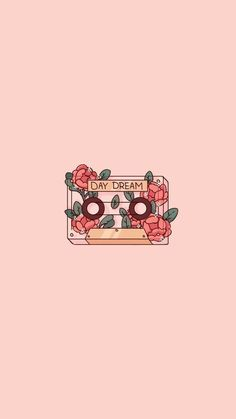 Cute Pink Romantic Transparent Cassette Flower Plant Phone Wallpaper Doodle Drawing by Poyura aesthetic drawing Cute Pink Romantic Day Dream Cassette Phone Wallpaper Doodle Drawing Wallpaper Doodle, Cute Wallpaper Backgrounds, Kawaii Wallpaper, Pretty Wallpapers, Iphone Background Wallpaper, Drawing Wallpaper, Transparent Wallpaper, Pastel Background, Wallpaper Quotes