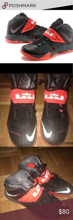 65% Off Nike Zoom Flight The Glove Miami Heat Red Black 616772-1