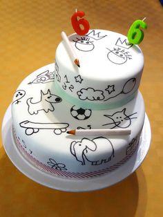 Interactive Cake - by Vanina @ CakesDecor.com - cake decorating website
