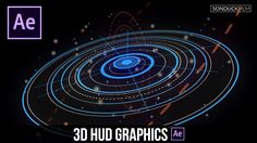 After Effects Tutorial: Advanced 3D HUD GFX Motion Graphics