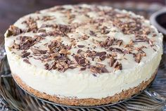 Pudding Desserts, Dessert Recipes, Frisk, Nom Nom, Ice Cream, Cream Cake, Delish, Cheesecake, Food And Drink