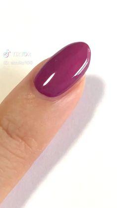 #ネイル#セルフネイル#ネイル基礎 Trendy Nails, Cute Nails, My Nails, Nail Manicure, Nail Polish, Throat Lozenge, Colored Acrylic Nails, Craft App, Self Nail