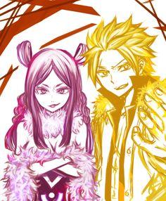 Minerva and Sting.