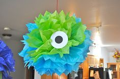 adorable ideas for a monster birthday party.
