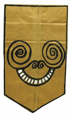 Image result for brown paper bag masks