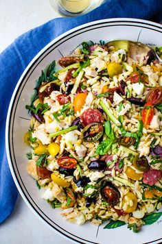 Need a fast, simple dinner? Use everyday pantry ingredients and leftover steak in this easy recipe for Southwestern Steak Salad! Ready in minutes! Sausage Soup, Dried Tomatoes, The Fresh, Pot Roast, Food Processor Recipes, Seafood, Spicy, Pork, Easy Meals