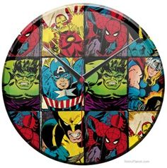 Marvel Superheroes Clock