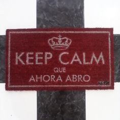 #felpudo #keepcalm Keep Calm, Ikea, Doormat, Ideas Para, Have Fun, Sweet Home, Gadgets, Funny, House