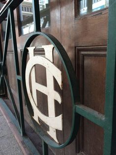 Criterion Hotel vintage signage - wrought iron - Perth WA