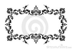 Decorative border ornament