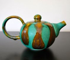Darling Handmade Teapot by 2FrogsStudio on Etsy, $85.00