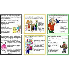 Math Word Problems Collection of Five Sets level 1
