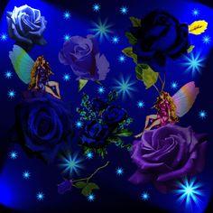 Animated Gif by Dimitrina Djuvtova Beautiful Flowers Wallpapers, Beautiful Gif, Beautiful Roses, Beautiful Pictures, Flowers Gif, Blue Flowers, I Wallpaper, Flower Wallpaper, Gif Animé