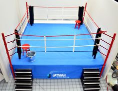 Boxing Ring Tutorial how I made it here: http://www.jatmanstories.com/dioramas/tutorials/tutorial-boxing-ring/