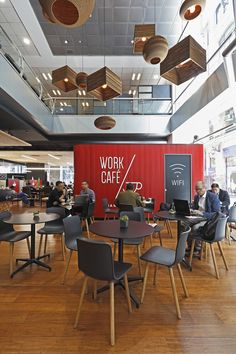 Hunter Douglas, Santander Bank, Work Cafe, Interior Design, Chile, Furniture, Home Decor, Environment, Projects
